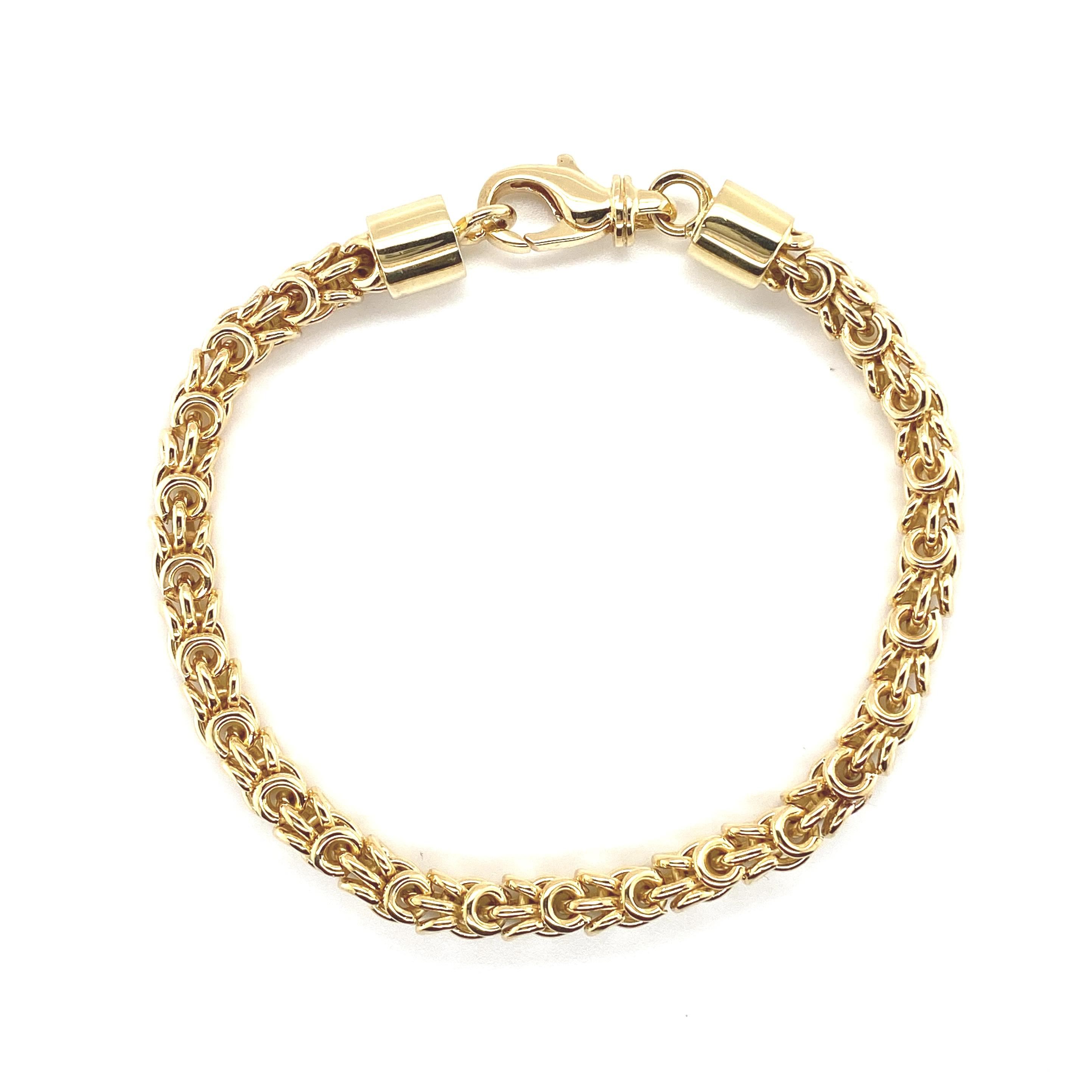 Weihnachten Goldarmband massiv_Juwelier Brandstetter Wien