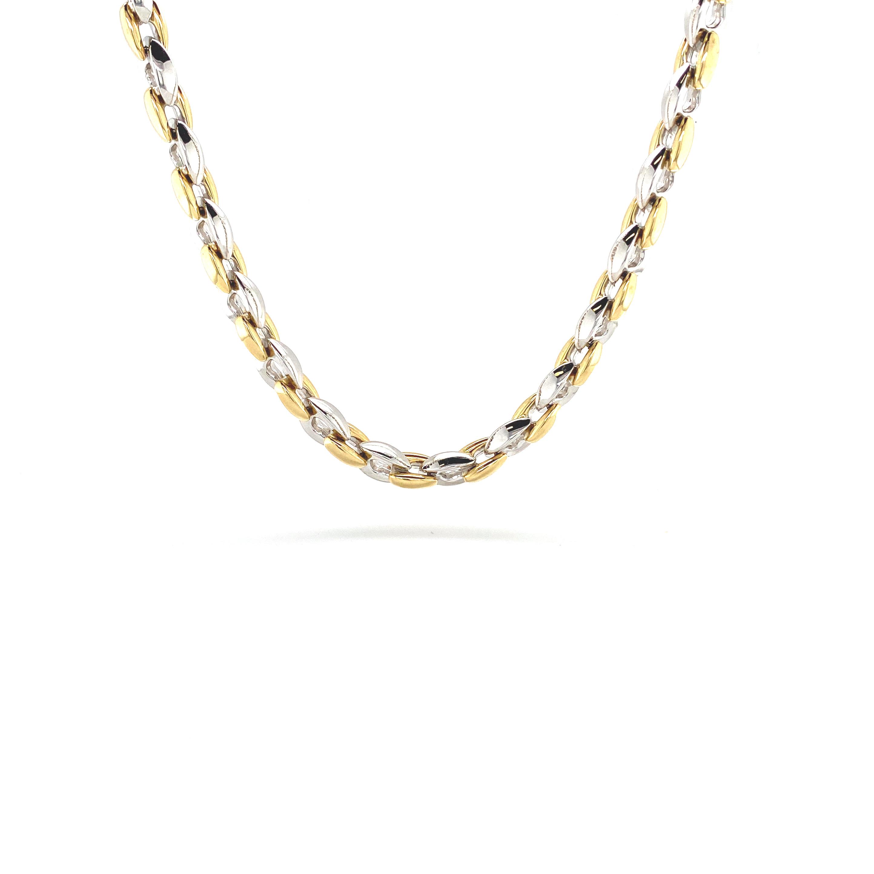 Weihnachten Geschenke_Goldkette Bicolor_Juwelier Silvia Brandstetter Wien