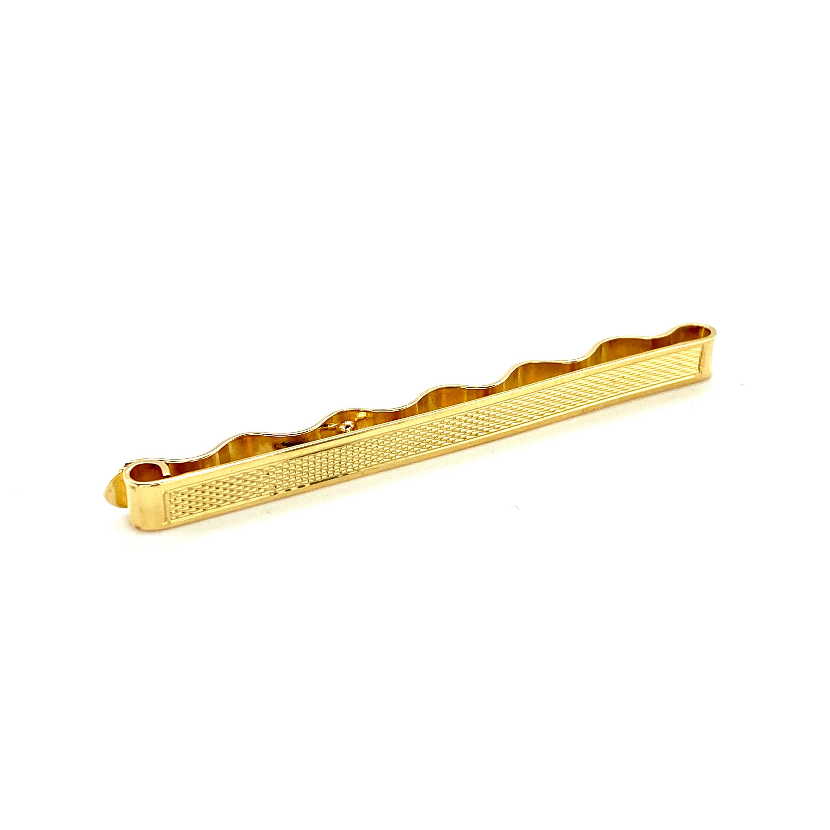 Weihnachten Krawattenschieber Gelbgold_Juwelier Brandstetter Wien