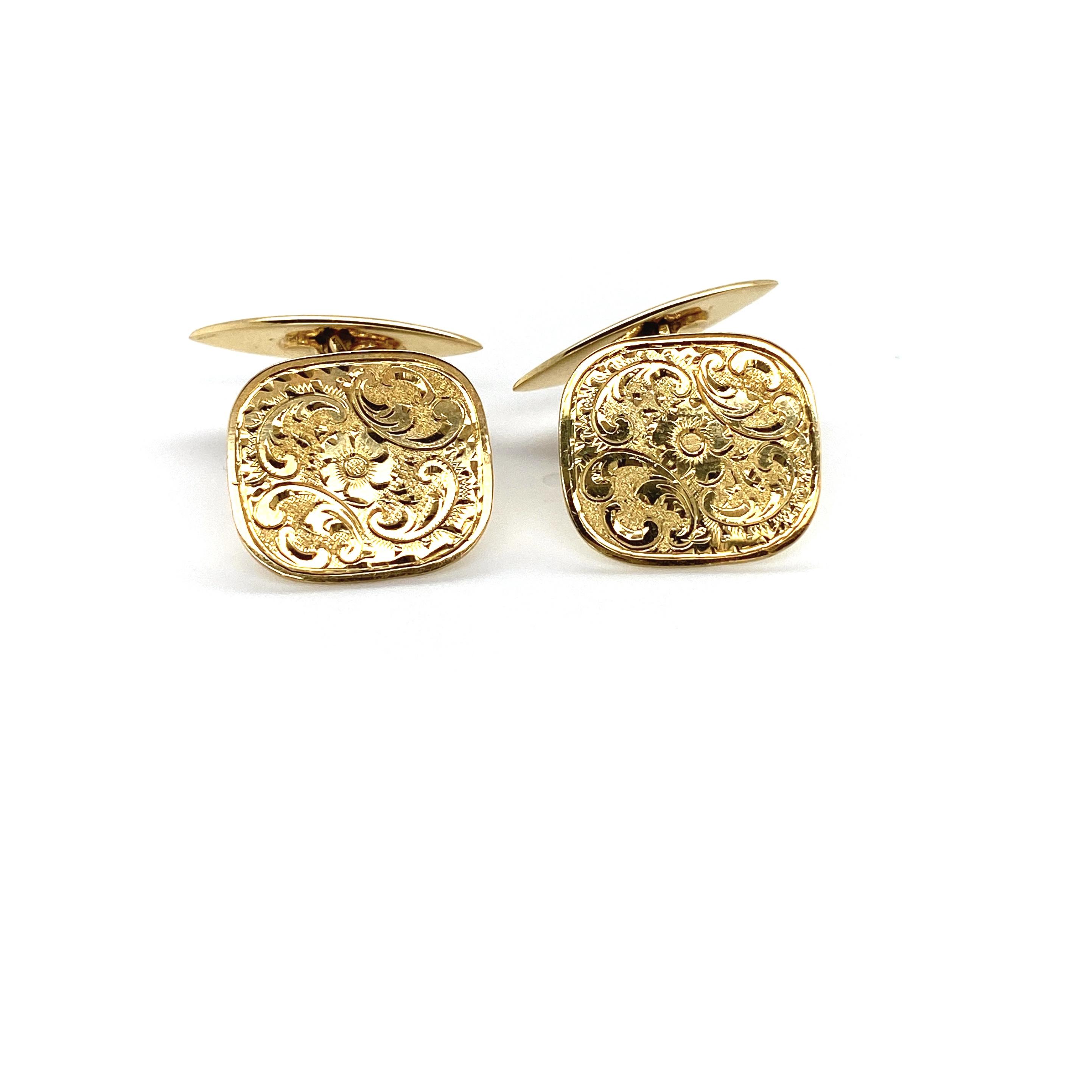 Manschettenknöpfe Gold_Juwelier Brandstetter Wien