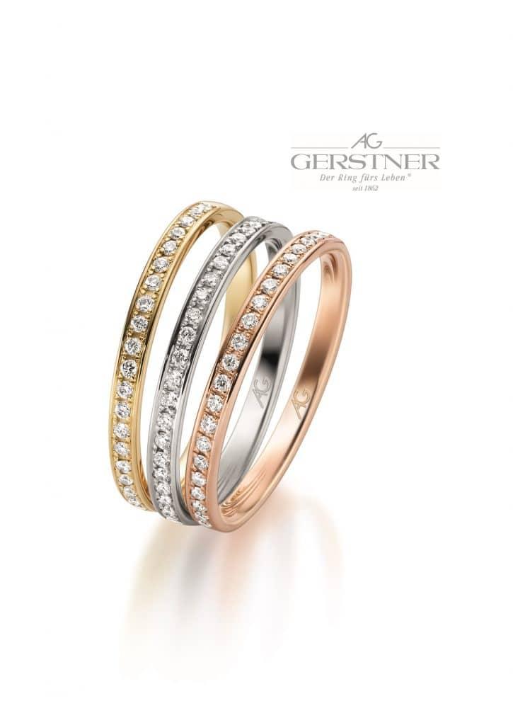 Mit Klick auf das Bild gelangen Sie auf die Unterseite Diamant Eheringe von Juwelier Silvia Brandstetter